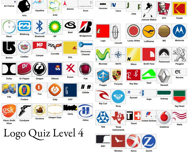 Logo Quiz Answer Level 1 2 3 4 5 6 7 8 9 iOS and AndroidWa