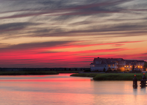 sunset vacation bay newjersey unitedstates nj stoneharbor