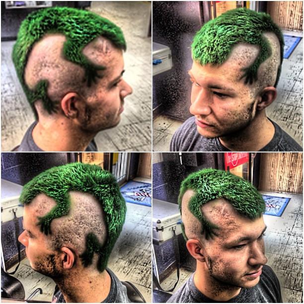 Picasso S Hair Art Here Lizard Lizard Lizard Mohawk Liz Flickr