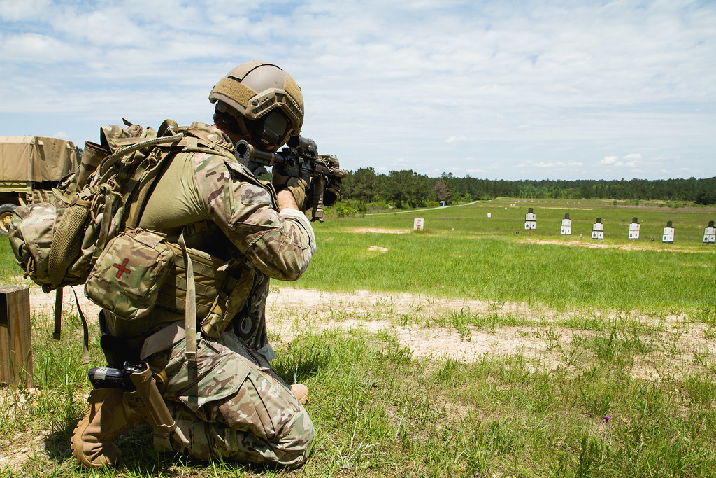 Unconventional Warfare Exercises Conducted At Camp