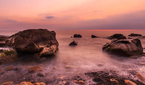sunset 夕陽 海岸 日落 6d 岩石 屏東縣 ef1635mm 枋山鄉 456k