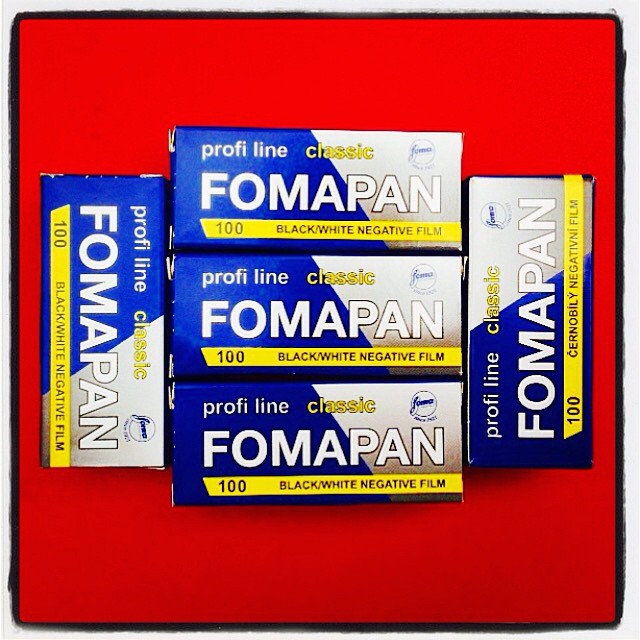 Fresh film. Perhaps the cheapest 120 B&W film in UK. Great for camera testing or for that softer classic look. #fomapan #fomapan100 #120film #blackandwhite #mediumformat #ilovefilm #ishootfilm #filmrocks www.MrLeica.com