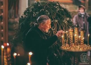 Великая вечерня в Иверском монастыре 290