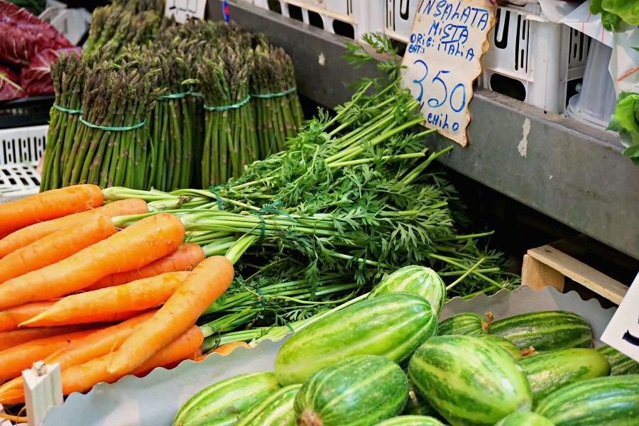 Bologna Market Produce
