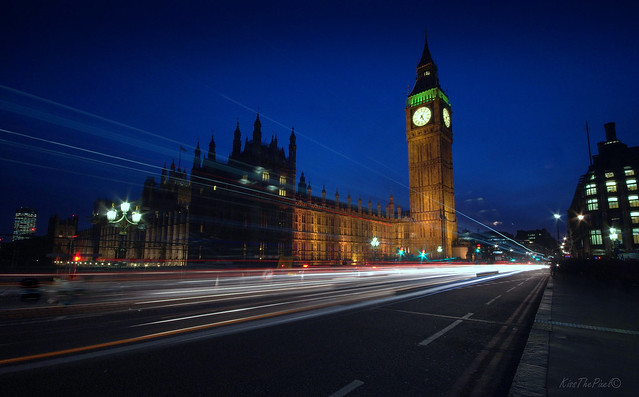 Westminster by Night..