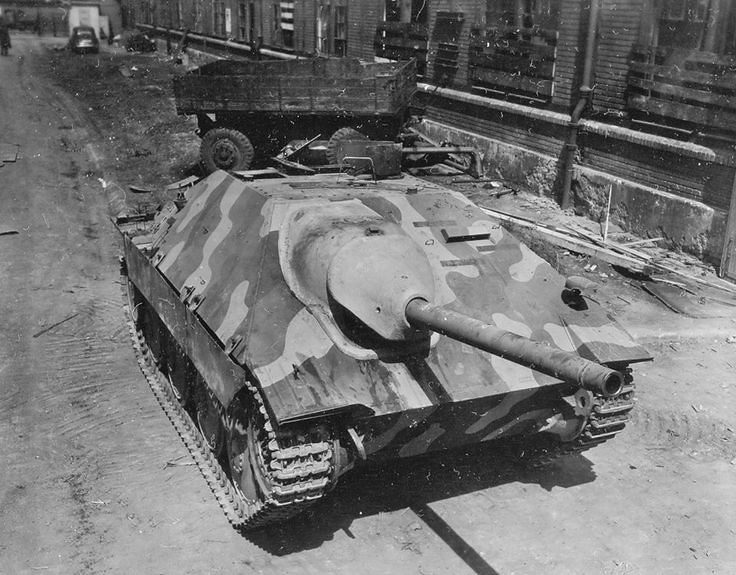 Vokietijos Hetzer Panzerjaeger