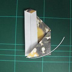 วิธีพับกระดาษเป็นรูปลูกสุนัข (แบบใช้กระดาษสองแผ่น) (Origami Dog) 030