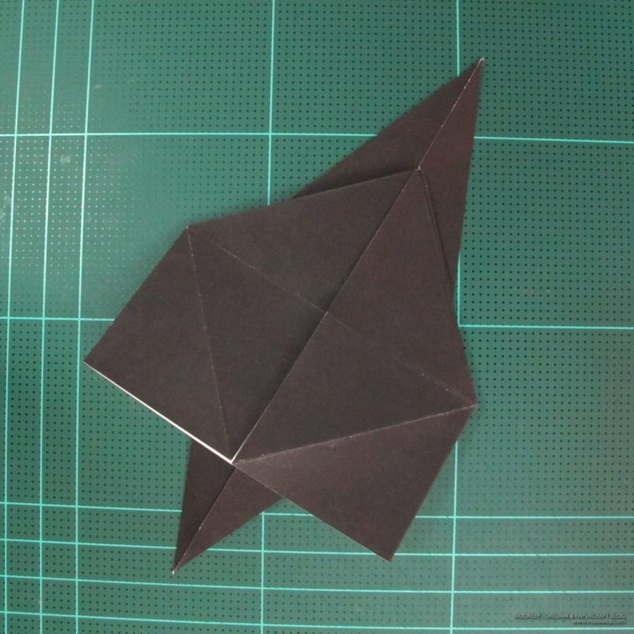 วิธีการพับกระดาษเป็นรูปจิงโจ้ (Origami Kangaroo) 004