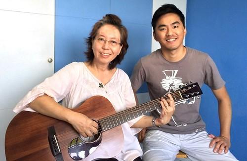 Adult guitar lessons Singapore Joyce
