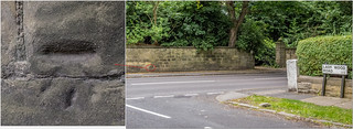 WETHERBY ROAD BENCH MARK   by I.K.Brunel
