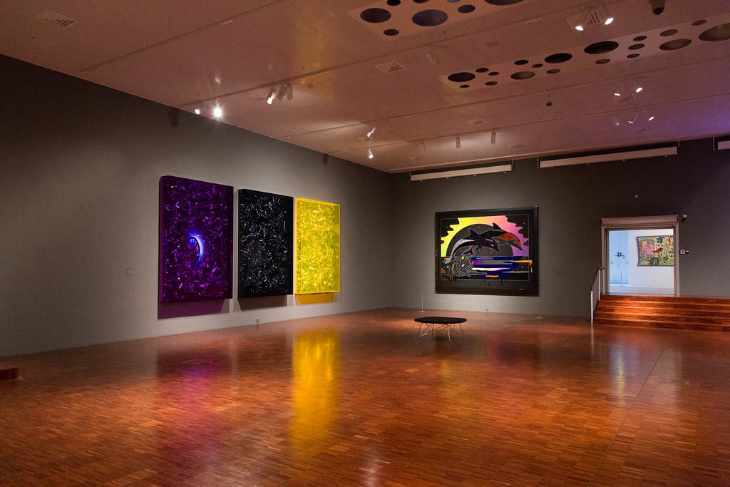 Anselm Reyle Exhibition Arken Museum Of Modern Art Flickr