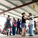 Mid-afternoon at the 23rd annual LeBeau Zydeco Festival, July 6, 2013