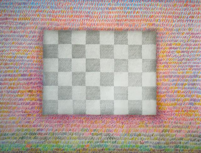 "Crayola and Pencil Drawing. (28"" x 20"") 2006."
