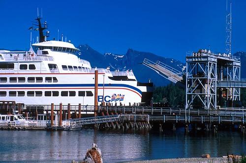 Langdale Ferry Terminal, Sechelt Peninsula, Sunshine Coast, British Columbia, Canada
