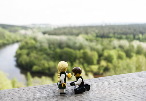 "Brides party orienteering game ""Lego Love Story"" 