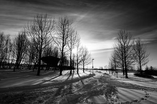 Low winter sun - Kopavogur, Iceland | by Páll Guðjónsson