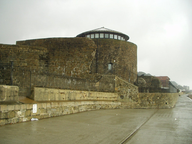 Old Martello Tower at Sandgate