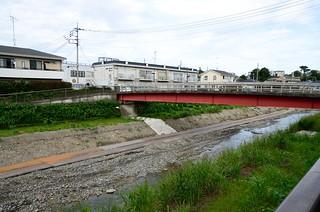 The Nogawa River and Way for Construction Vehicles   by ykanazawa1999
