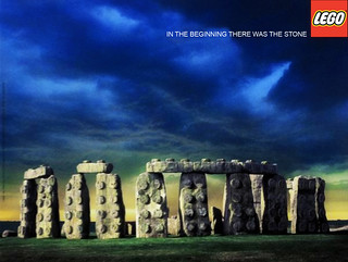 Stonehenge Lego Poster (2005) | by Fifth line