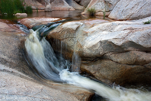 stream water rock pool romeropools catalinastatepark catalinamountains tucson arizona canonrebelxsi falls waterfall creek desert skyislands unitedstates america waterfalls usa