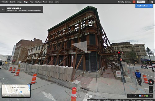 Google Maps Streetview   by Timothy Comeau