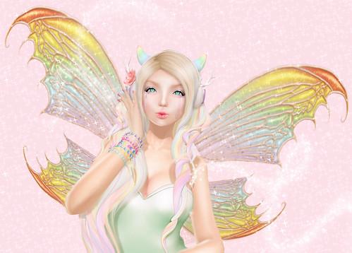 rainbow fairy | by The Wandering Faun