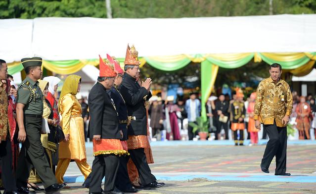 Presiden SBY Buka Pekan Kebudayaan Aceh