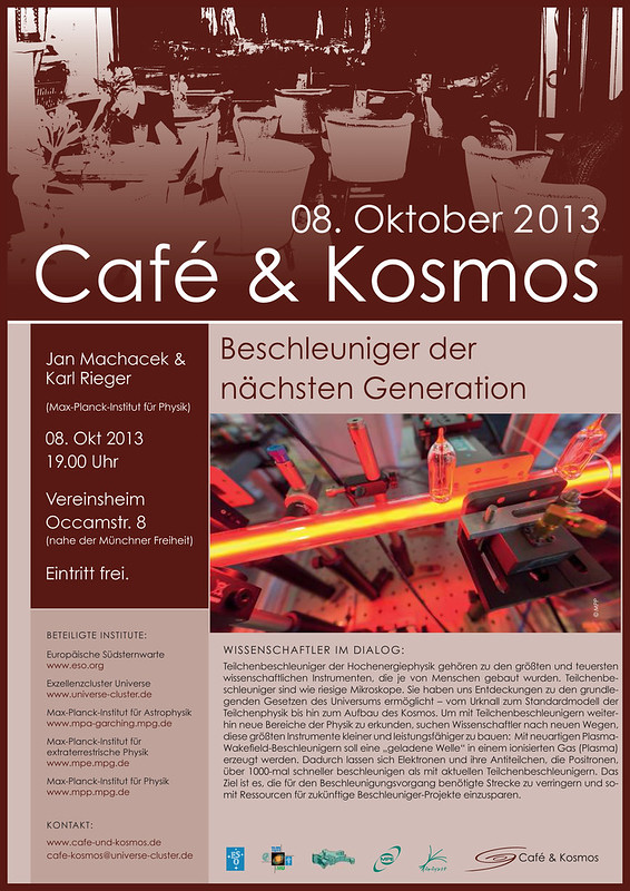 Café & Kosmos 8 October 2013