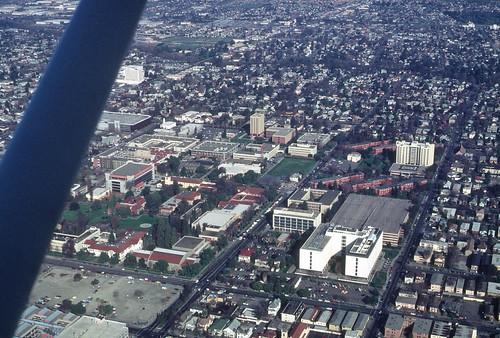 San Jose State University: Aerial view, 1984 (2)
