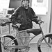 Howard and his bike.