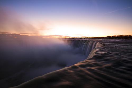 winter ontario canada sunrise niagarafalls january kerry niagara falls sheppard 2014 sheke1