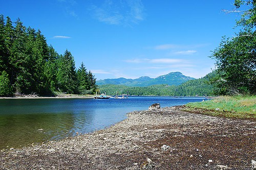 Santa Maria Island, Trevor Channel, Barkley Sound, West Coast Vancouver Island, British Columbia