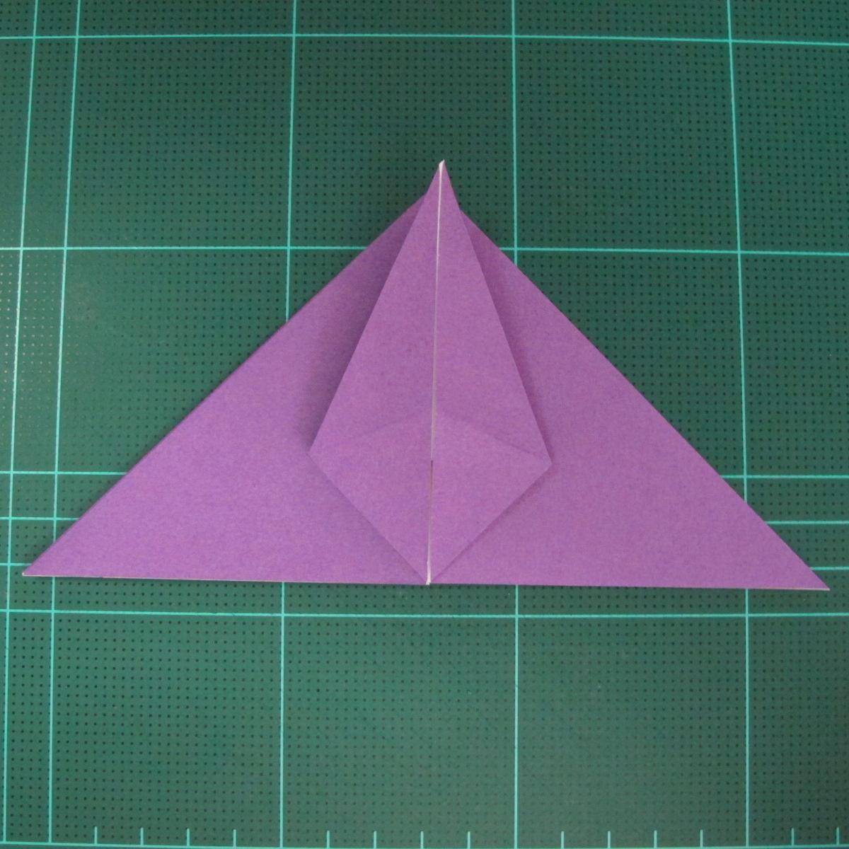 การพับกระดาษเป็นฐานนกอินทรี (Origami Eagle) 012