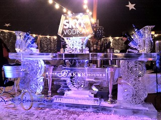 Admirable The Baker House Ice Bar 2013 Ice Sculpture Skyy Vodka Flickr Evergreenethics Interior Chair Design Evergreenethicsorg