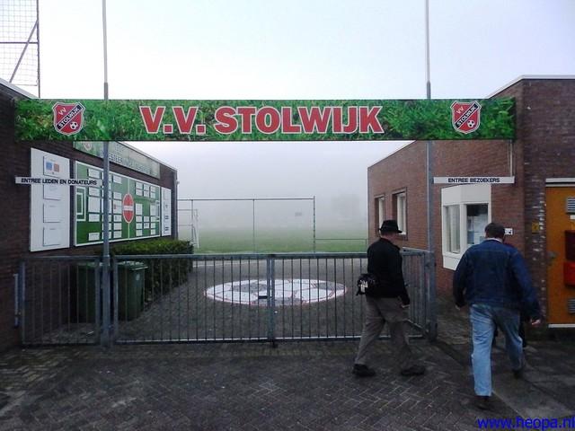 12-10-2013 Stolwijk  25.5 Km (1)