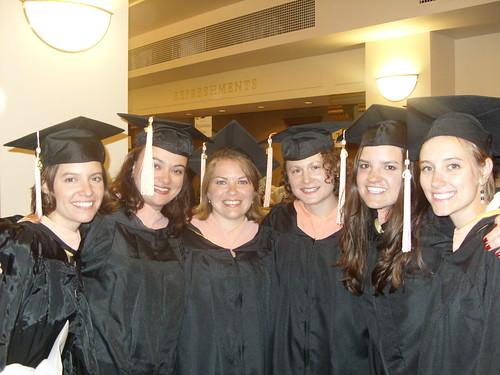 Jillian Murphy, Sarah Vasquez, Liz Lockhart, Sarah Pennewell, Emily Renda, and Emily Pingel