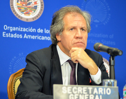 Secretary General Offers Press Conference at OAS General Assembly | by OEA - OAS