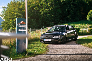 Audi Rs4 B5 Avant Black Edition For More Visit My Facebo Flickr
