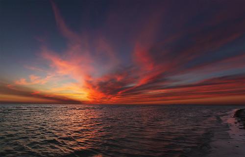 Fort Myers Beach Sunset   by Razzo1988