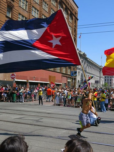 latin american flags, puerto rico running | by stevendamron