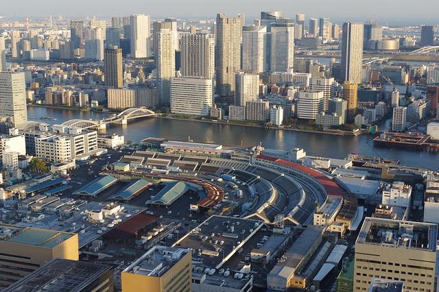 Kachidoki Tsukiji market PENTAX K-3 【Explored】