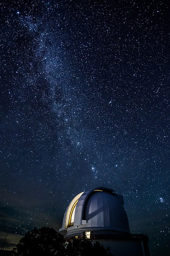 Harlan J. Smith Telescope and the Milky Way | by ccrenshaw