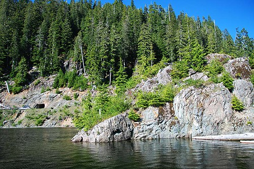 Jim Mitchell Lake, Strathcona Provincial Park, Central Vancouver Island, British Columbia, Canada
