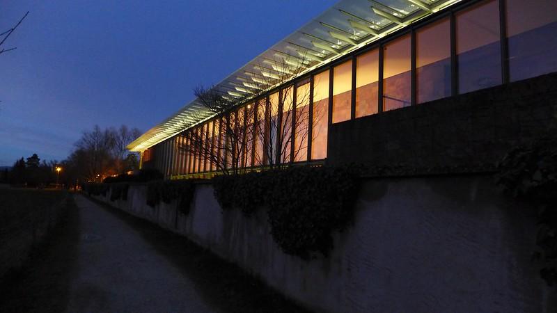 Renzo Piano building in Riehen, Basel
