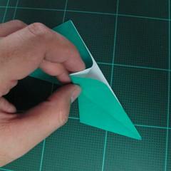การพับกระดาษเป็นรูปเรือมังกร (Origami Dragon Boat) 016