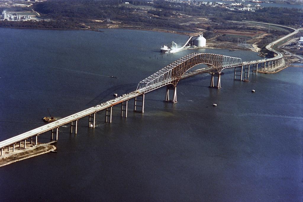 Francis Scott Key Bridge Construction