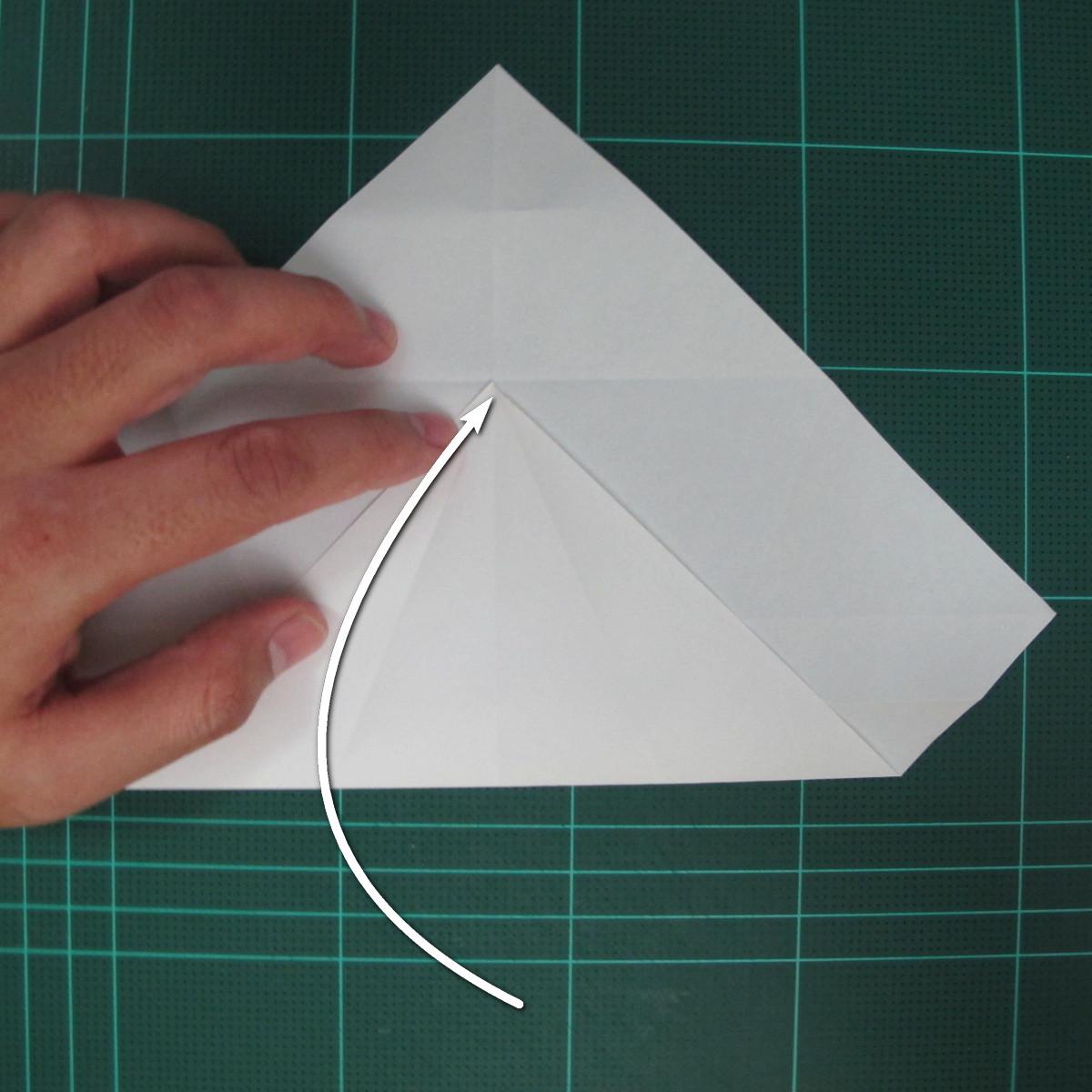 วิธีพับกระดาษเป็นรูปปลาแซลม่อน (Origami Salmon) 011
