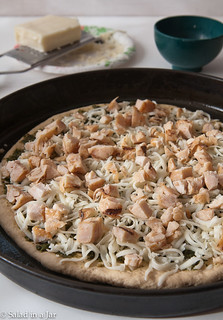 Chicken and Pesto Pizza-5.jpg   by Salad in a Jar