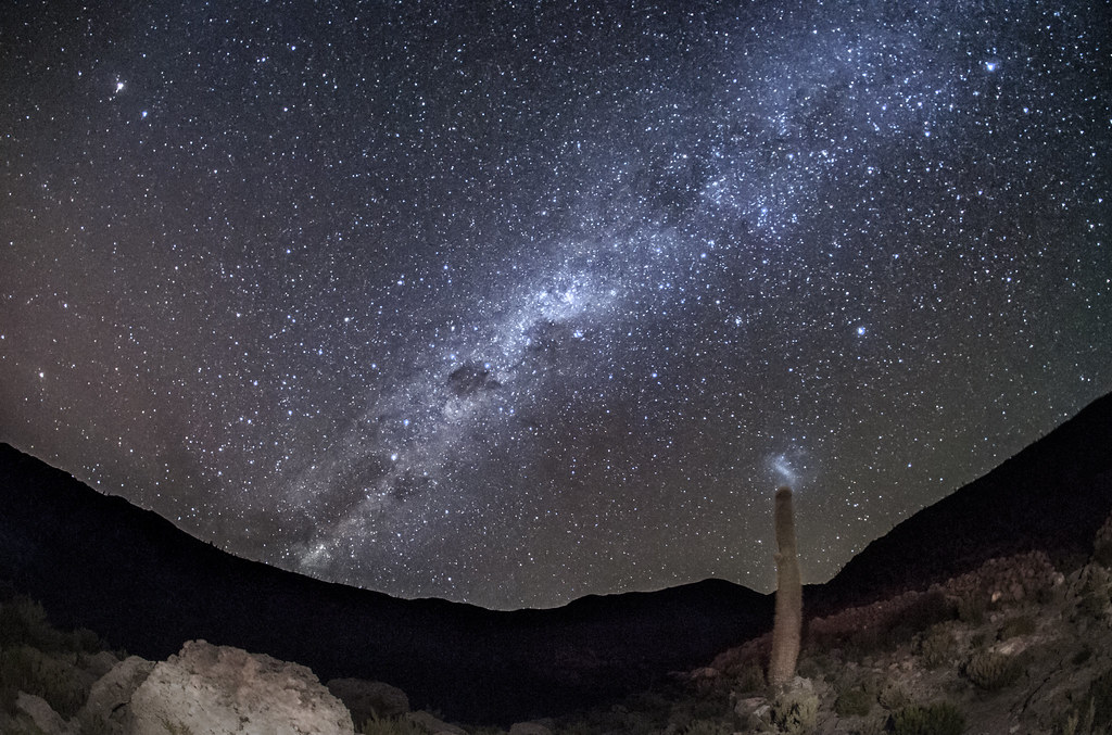 Ad Astra Per Aspera: Vía Láctea / Milky Way
