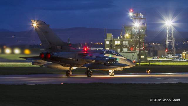 ZA551 043 Tornado GR4 RAF Lossiemouth